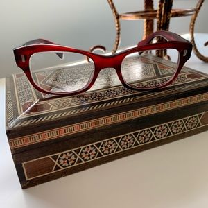Oliver Peoples Prescription glasses Maroon
